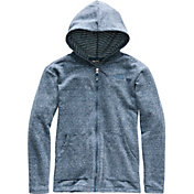 The North Face Girls' Long And Long Of It Full Zip Hoodie