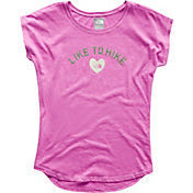 The North Face Girls' Tri-Blend Scoop-Neck T-Shirt
