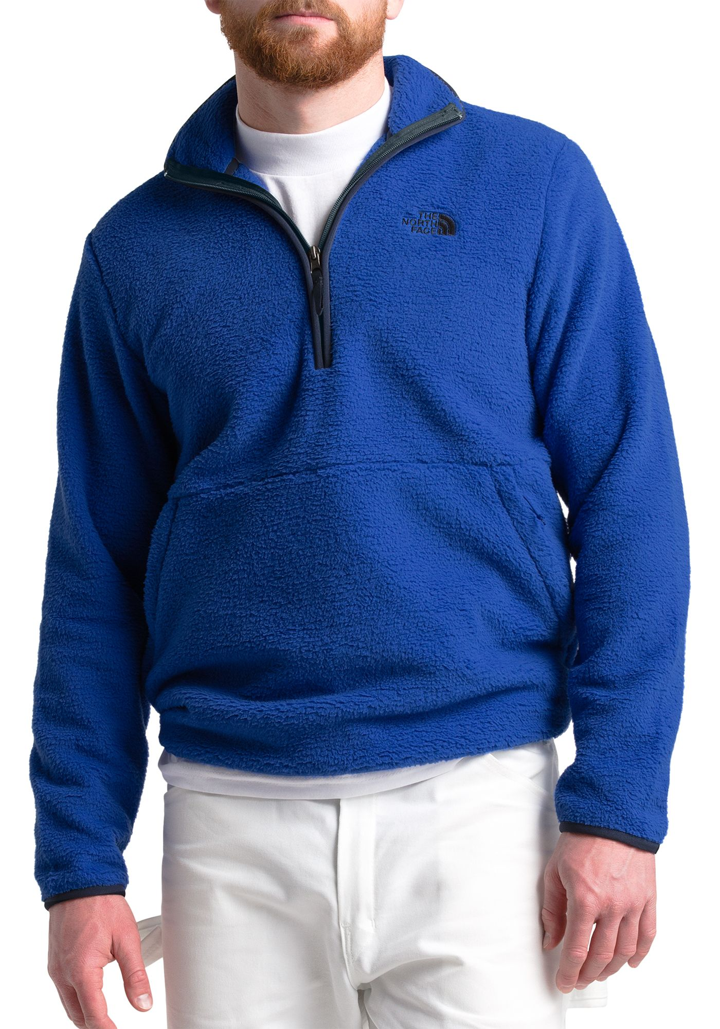 The North Face Men's Dunraven Quarter Zip Fleece Pullover
