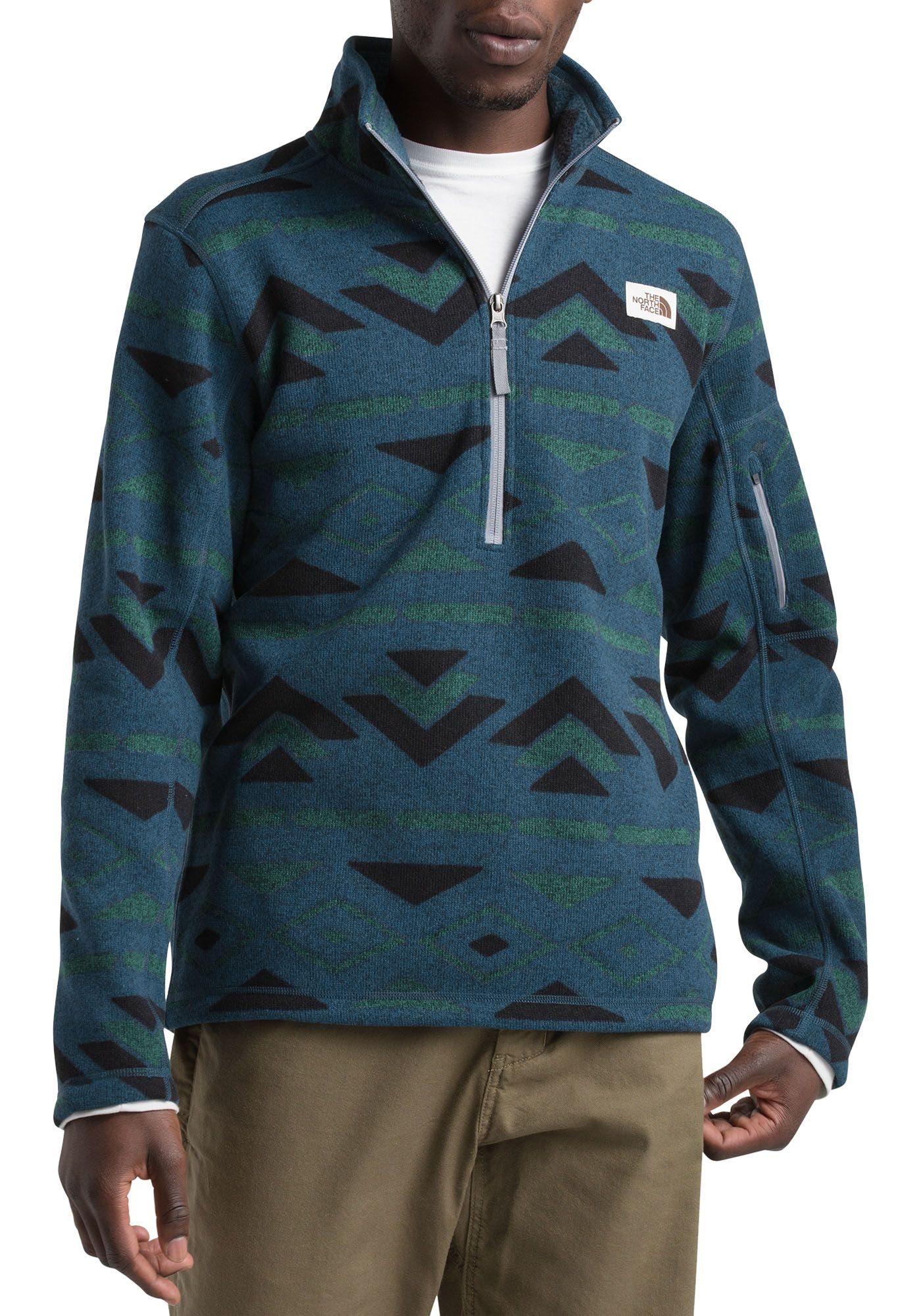 The North Face Men's Gordon Lyons Novelty 1/4 Zip Pullover