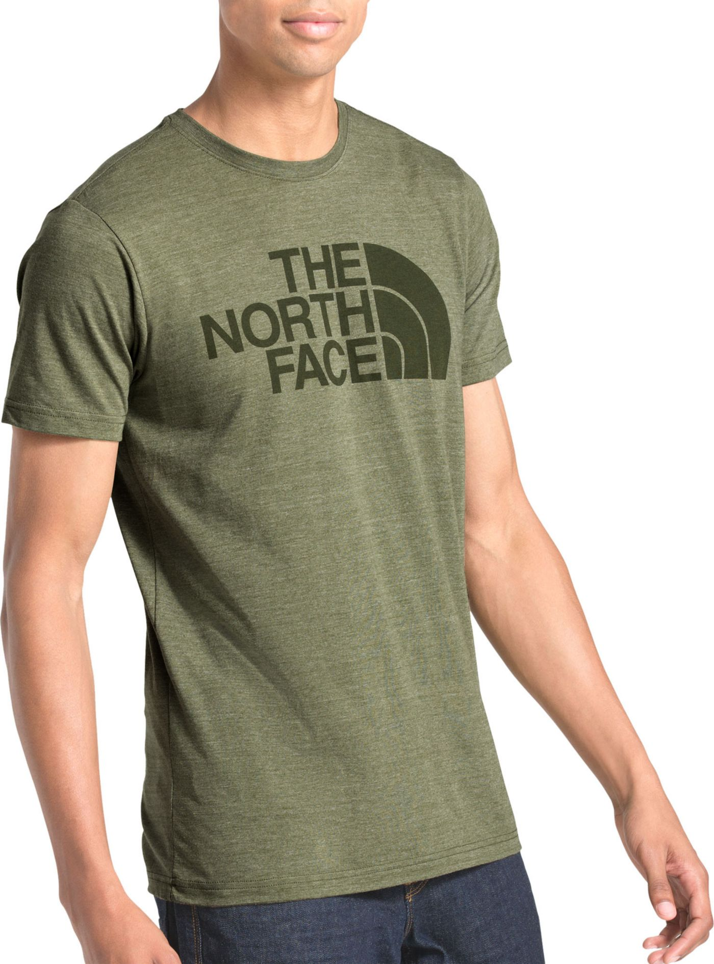 The North Face Men's Short Sleeve Half Dome Tri-Blend T-Shirt