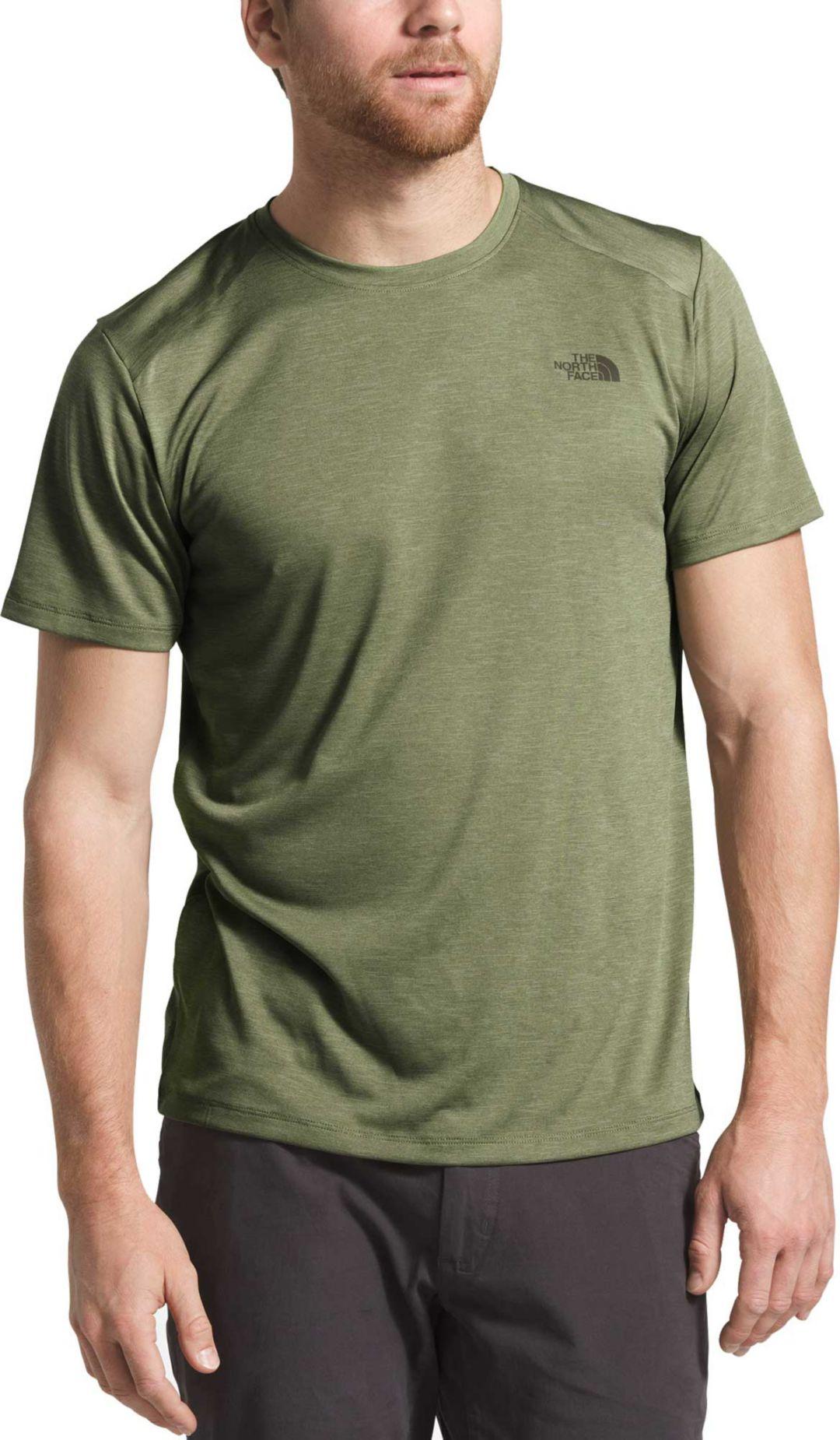 7d4a7a2cf The North Face Men's HyperLayer FlashDry Short Sleeve Crew T-Shirt