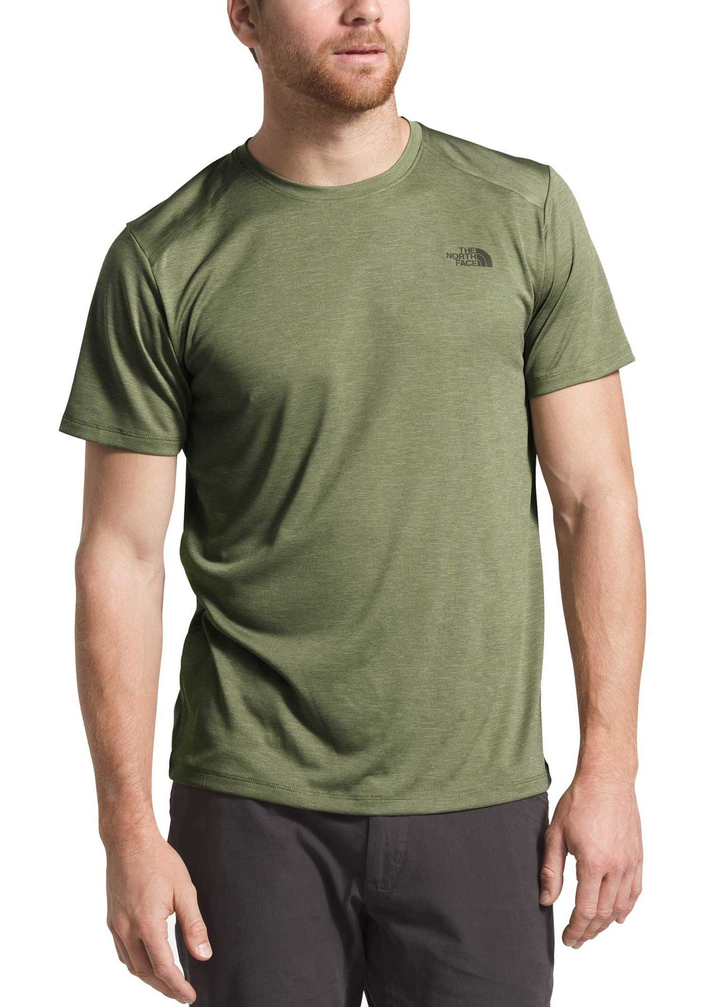 The North Face Men's HyperLayer FlashDry Short Sleeve Crew T-Shirt