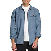 The North Face Men's Long Sleeve Berkeley Chambray Zippered Shirt Jacket