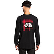 The North Face Men's Holiday Red Box Long Sleeve T-Shirt