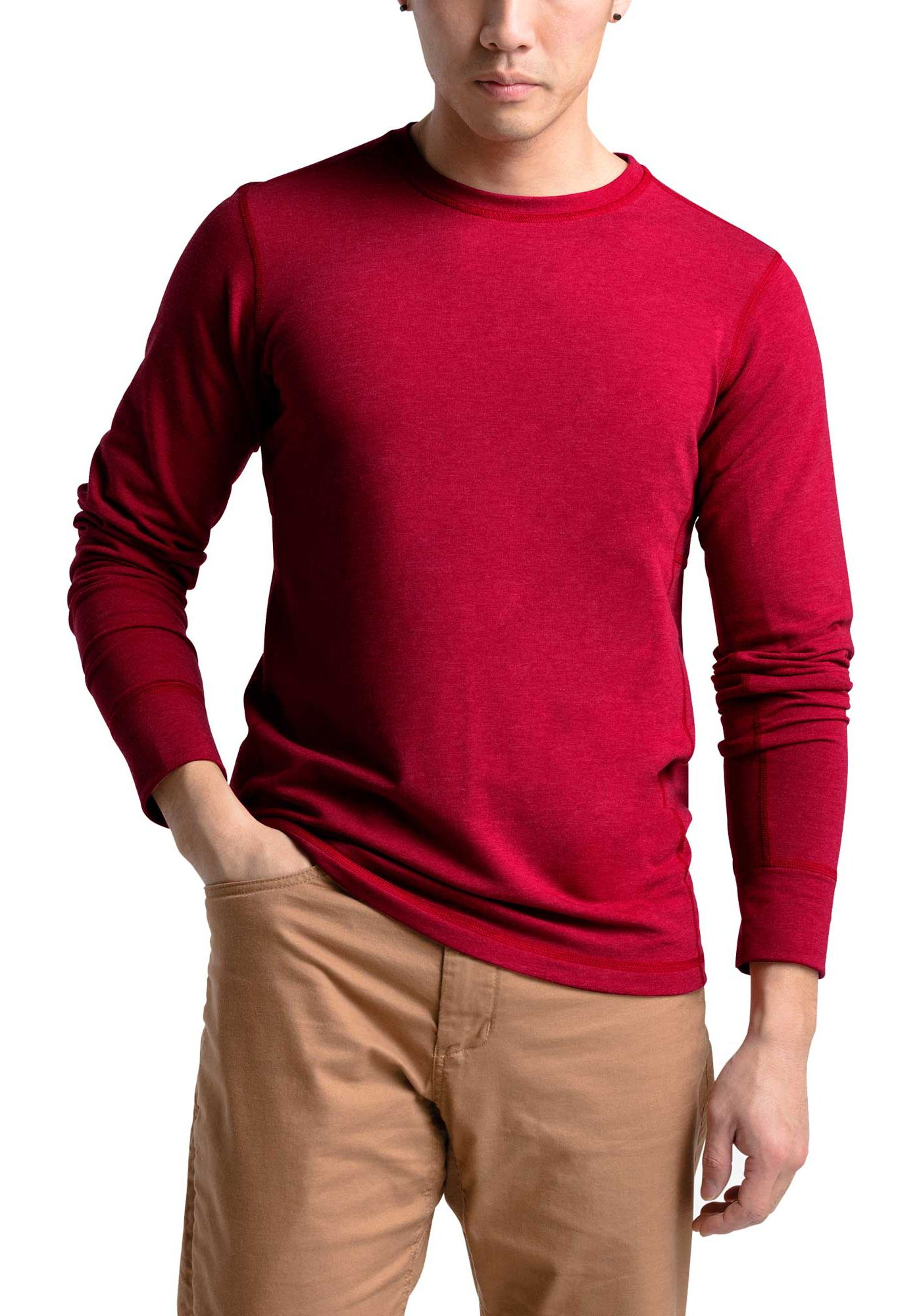 The North Face Men's Long Sleeve Terry Crew Shirt