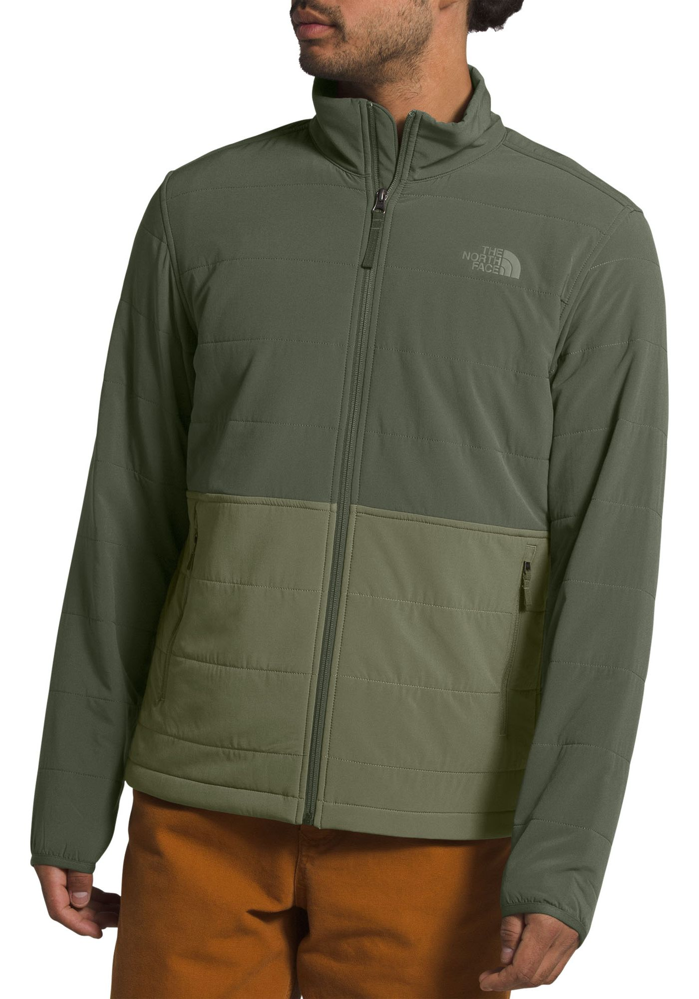 The North Face Men's Mountain Full Zip Quilted Jacket
