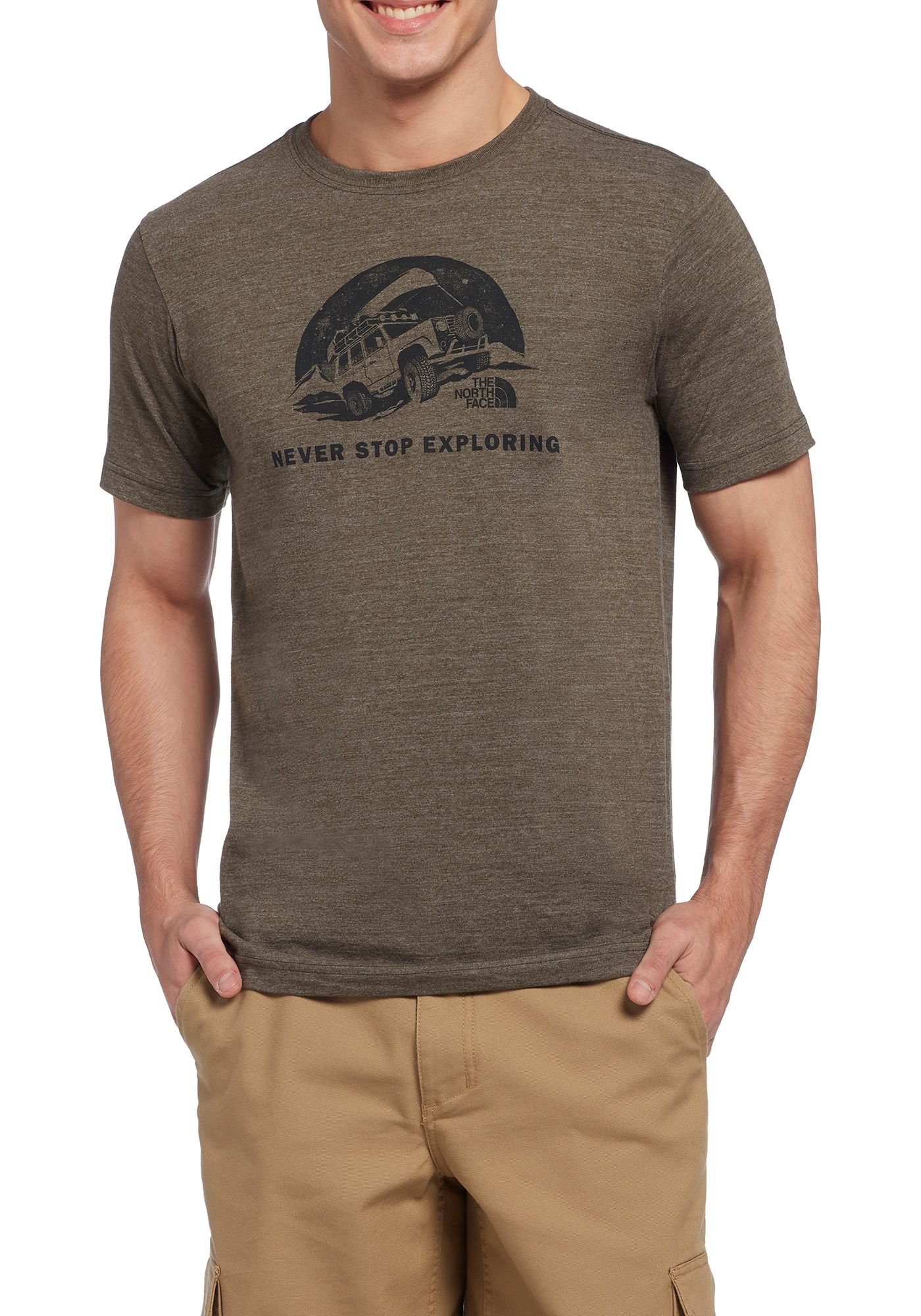 The North Face Men's Pony Wheels Tri-Blend T-Shirt