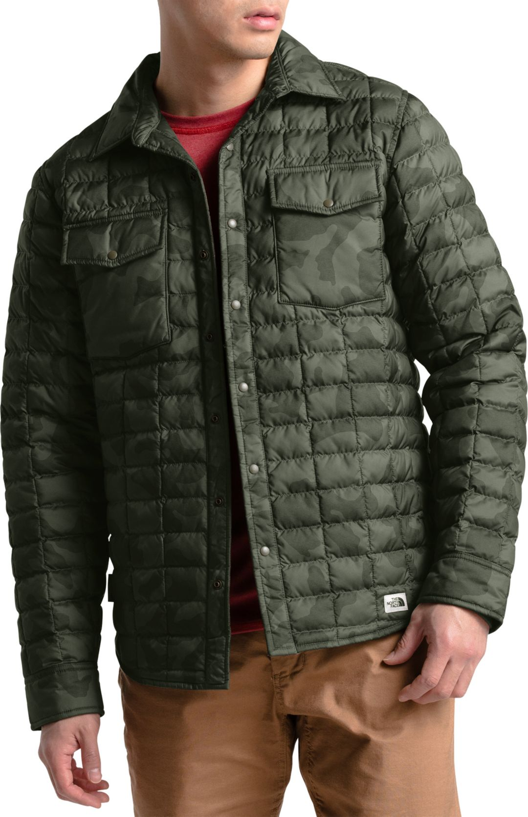 The North Face Mens Thermoball Eco Insulated Snap Jacket