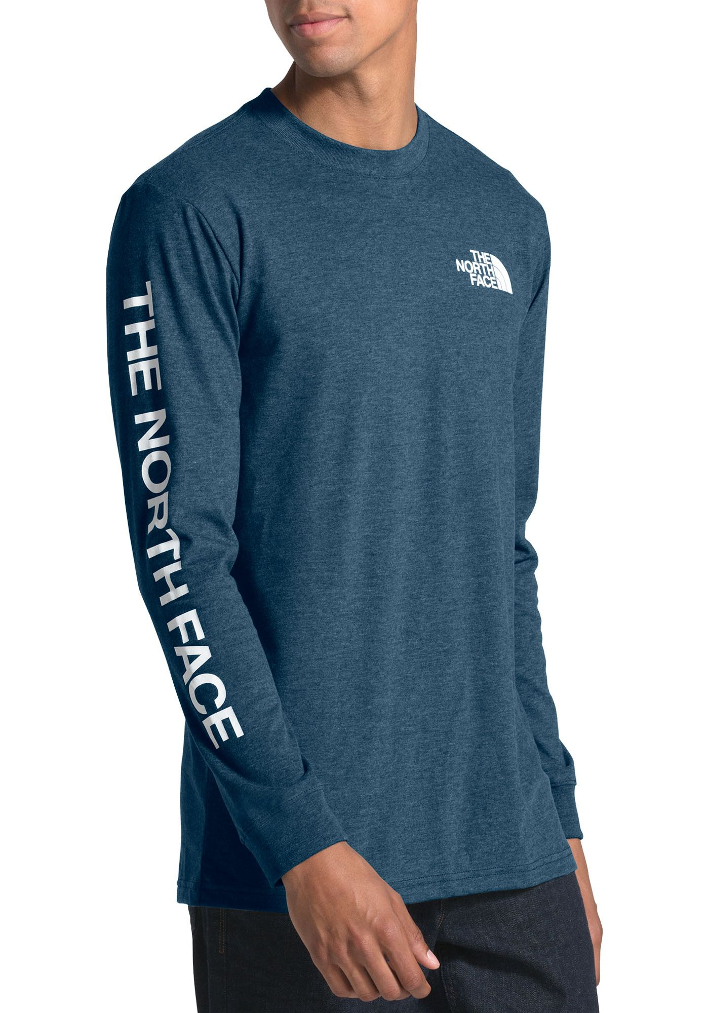 The North Face Men's Long Sleeve Brand Proud Cotton Fashion T-Shirt