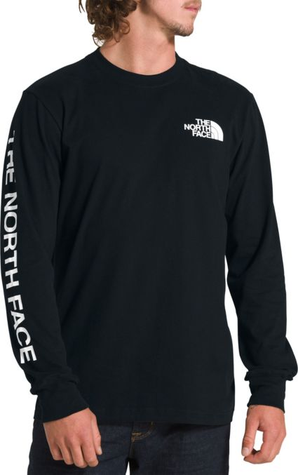 The North Face Men's Long Sleeve Brand Proud Cotton T
