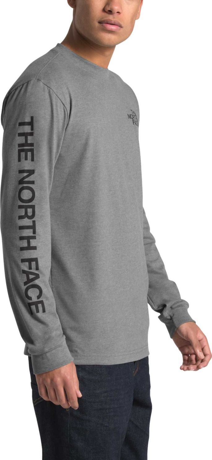 The North Face Men's Long Sleeve Brand Proud Cotton T Shirt