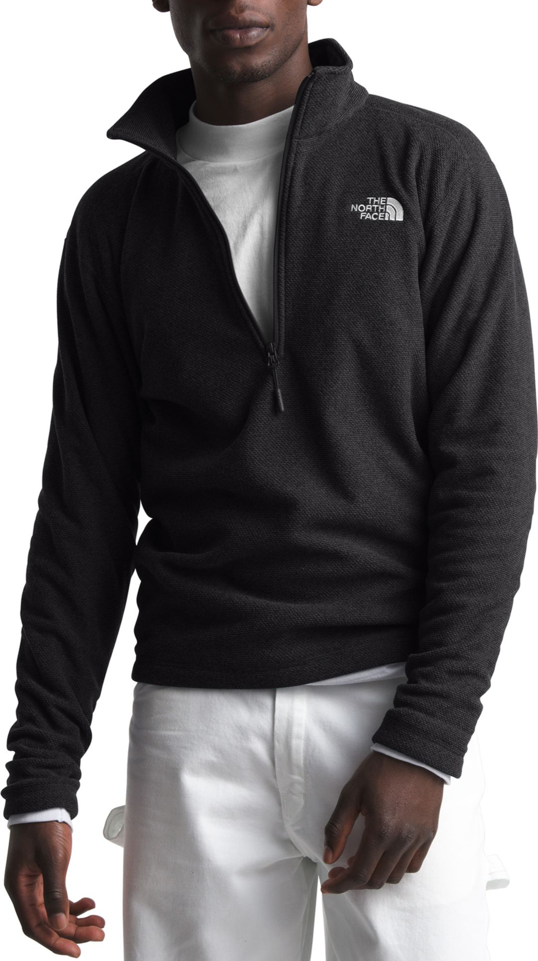 9290b1686 The North Face Men's Textured Cap Rock 1/4 Zip Pullover