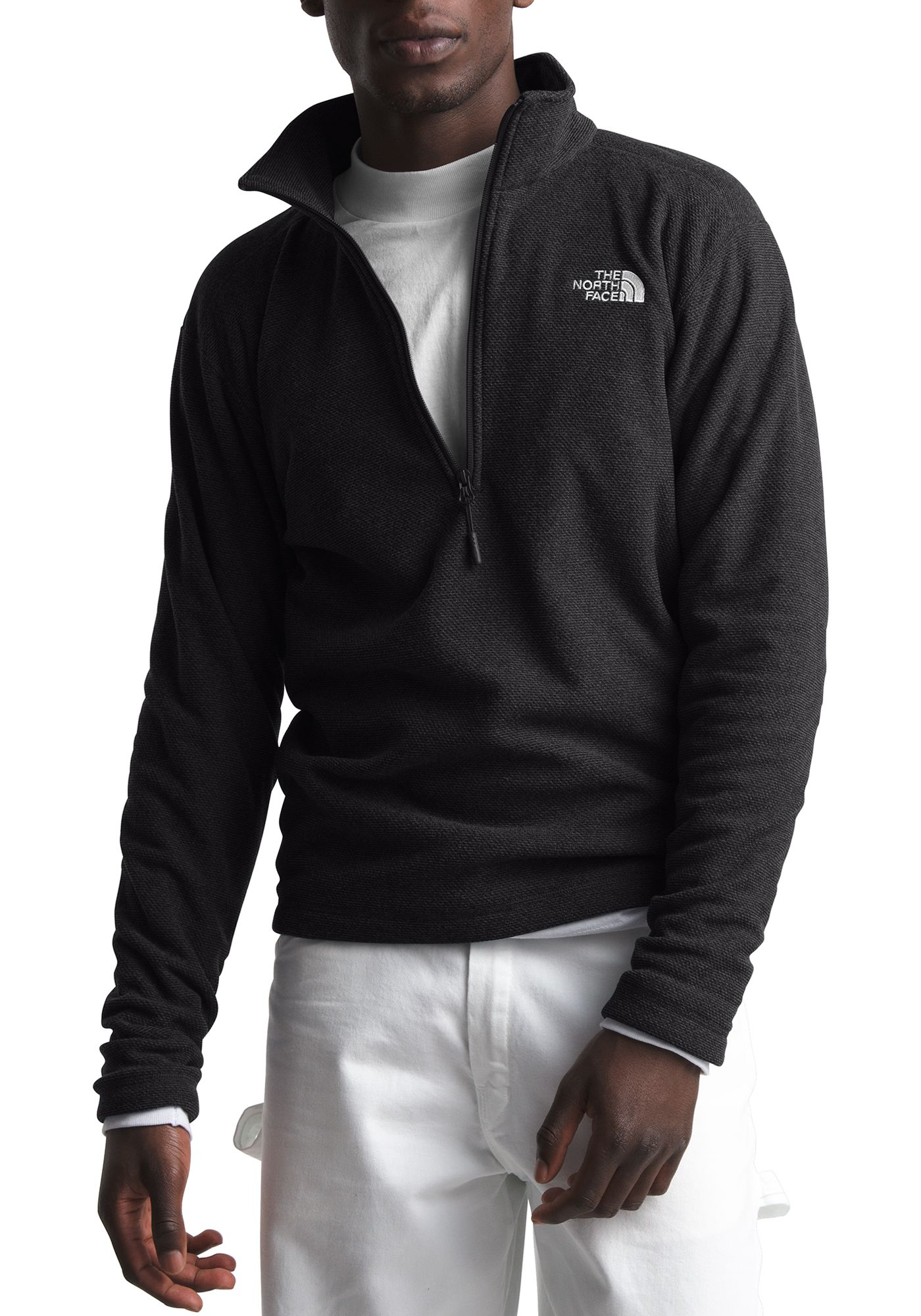 The North Face Men's Textured Cap Rock 1/4 Zip Pullover