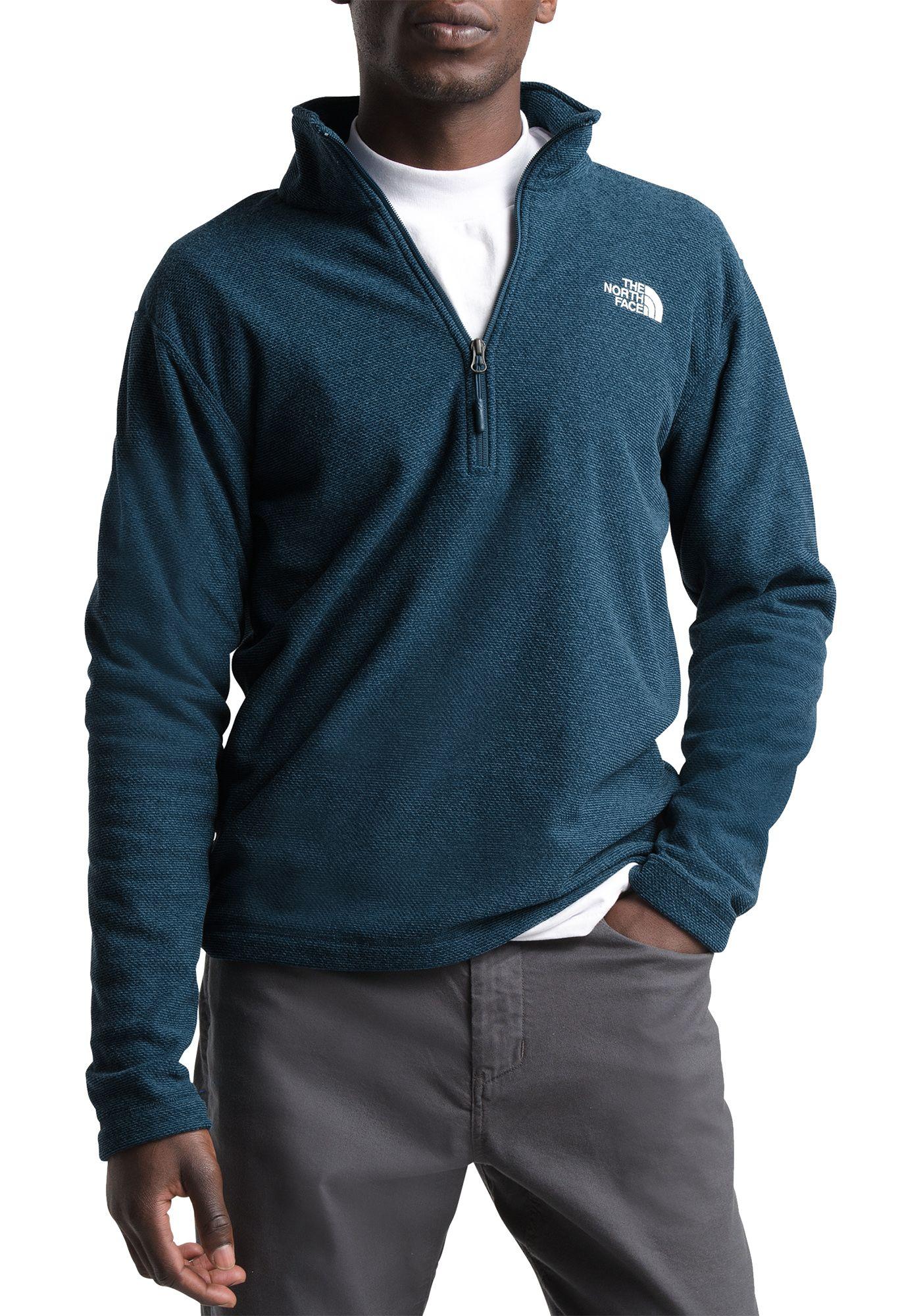 The North Face Men's Textured Cap Rock 1/4 Zip Pullover