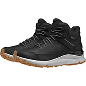 The North Face Men's Vals Mid Leather Waterproof Hiking Boots