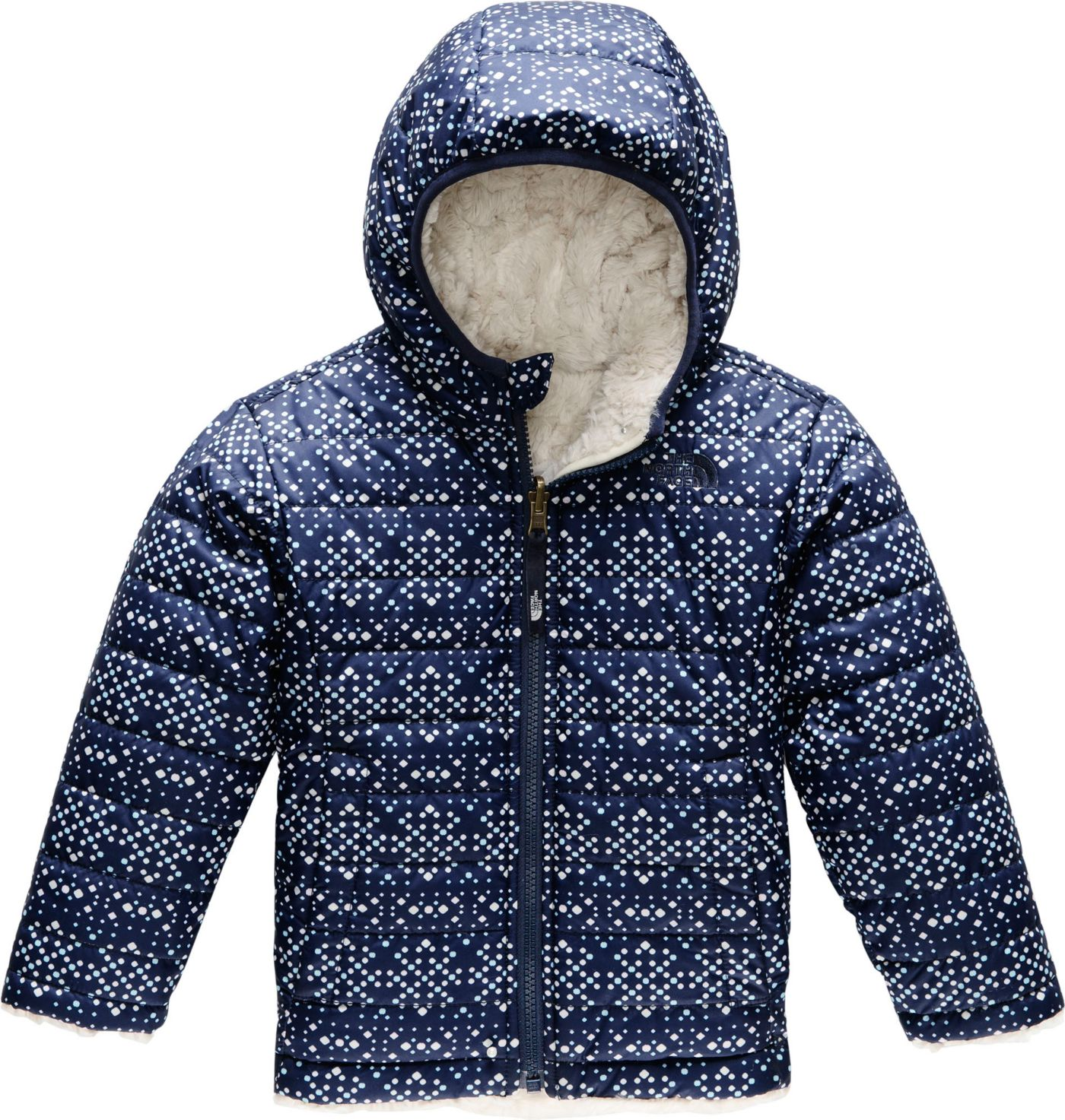 The North Face Little Girls' Reversible Mossbud Swirl Jacket