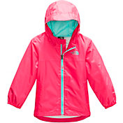 The North Face Toddler Zipline Rain Jacket in Atomic Pink