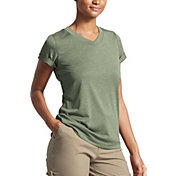 The North Face Women's HyperLayer FlashDry V-Neck T-Shirt