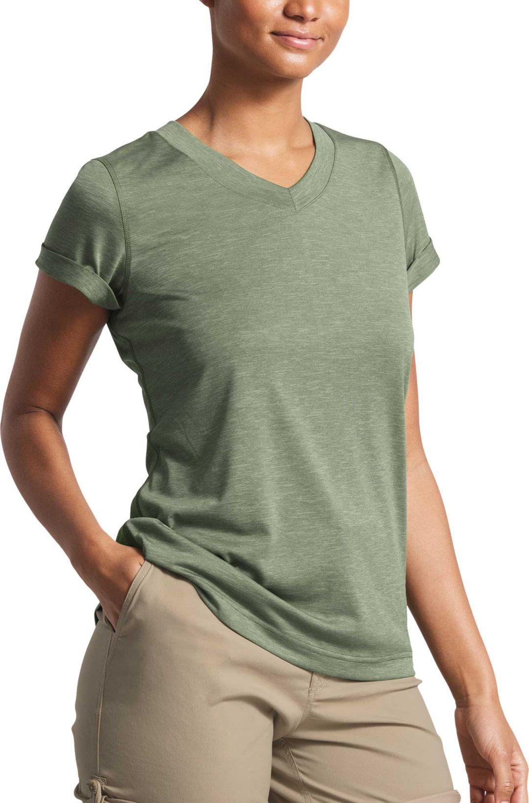 6ecf62c9e The North Face Women's HyperLayer FlashDry V-Neck T-Shirt