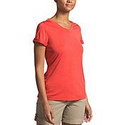 The North Face Women's HyperLayer FlashDry V-Neck T-Shirt
