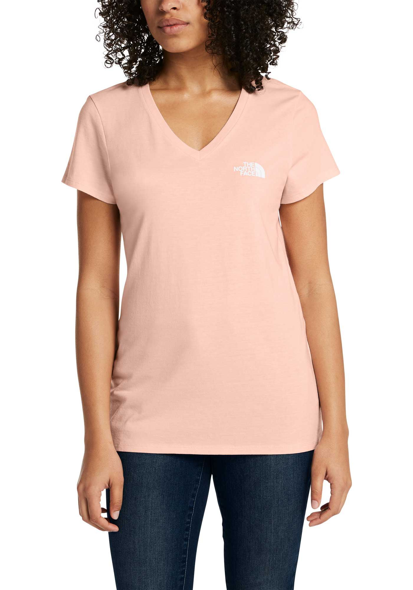 The North Face Women's Short Sleeve Brand Proud Tri-Blend V-Neck Shirt