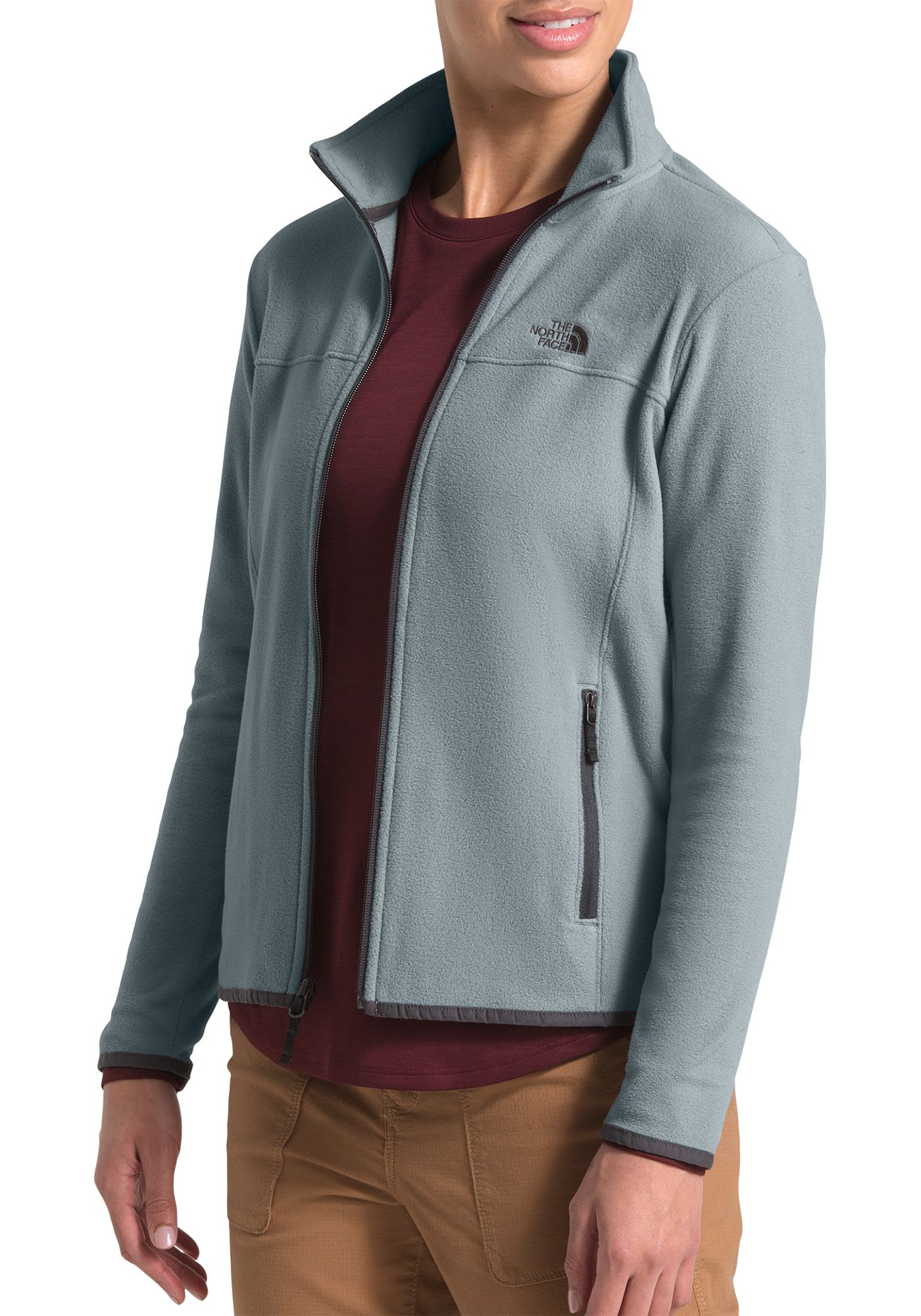 The North Face Women's TKA Glacier Fleece Full Zip Jacket