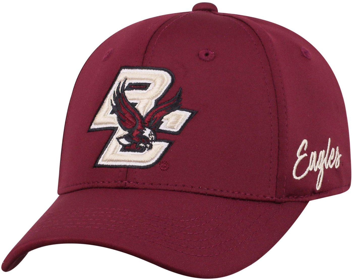 Top of the World Men's Boston College Eagles Maroon Phenom 1Fit Flex Hat