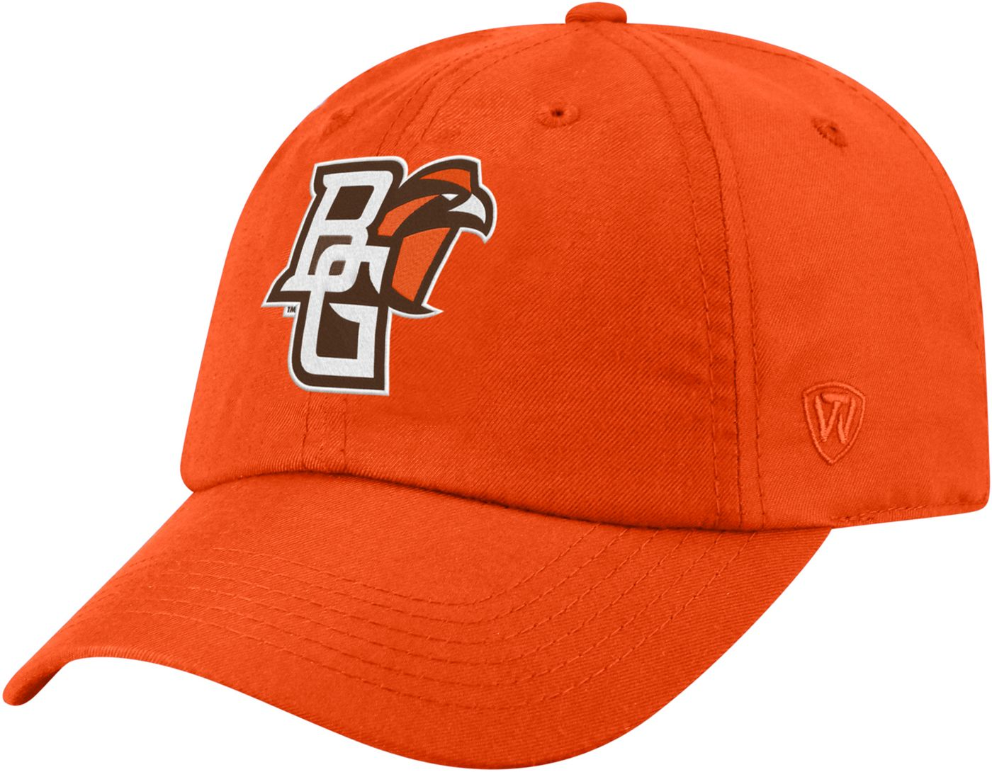 Top of the World Men's Bowling Green Falcons Orange Staple Adjustable Hat