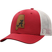 Top of the World Men's Alabama Crimson Tide Crimson/Grey Precise Trucker Adjustable Hat