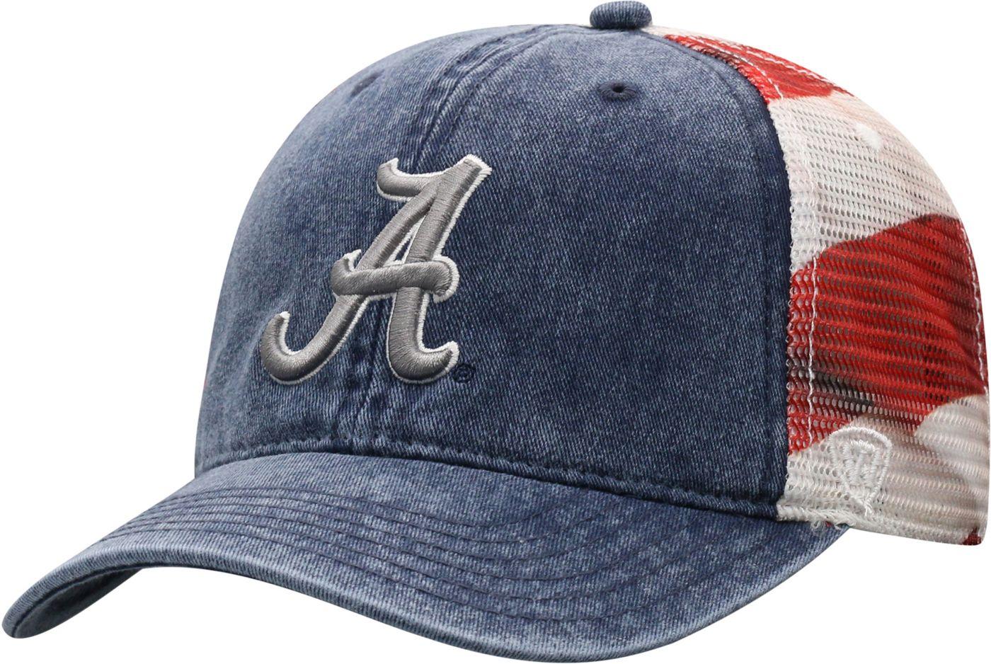 Top of the World Men's Alabama Crimson Tide Flag Adjustable Hat