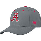 Top of the World Men's Alabama Crimson Tide Grey Triple Threat Adjustable Hat