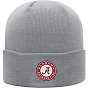 Top of the World Men's Alabama Crimson Tide Grey Cuff Knit Beanie