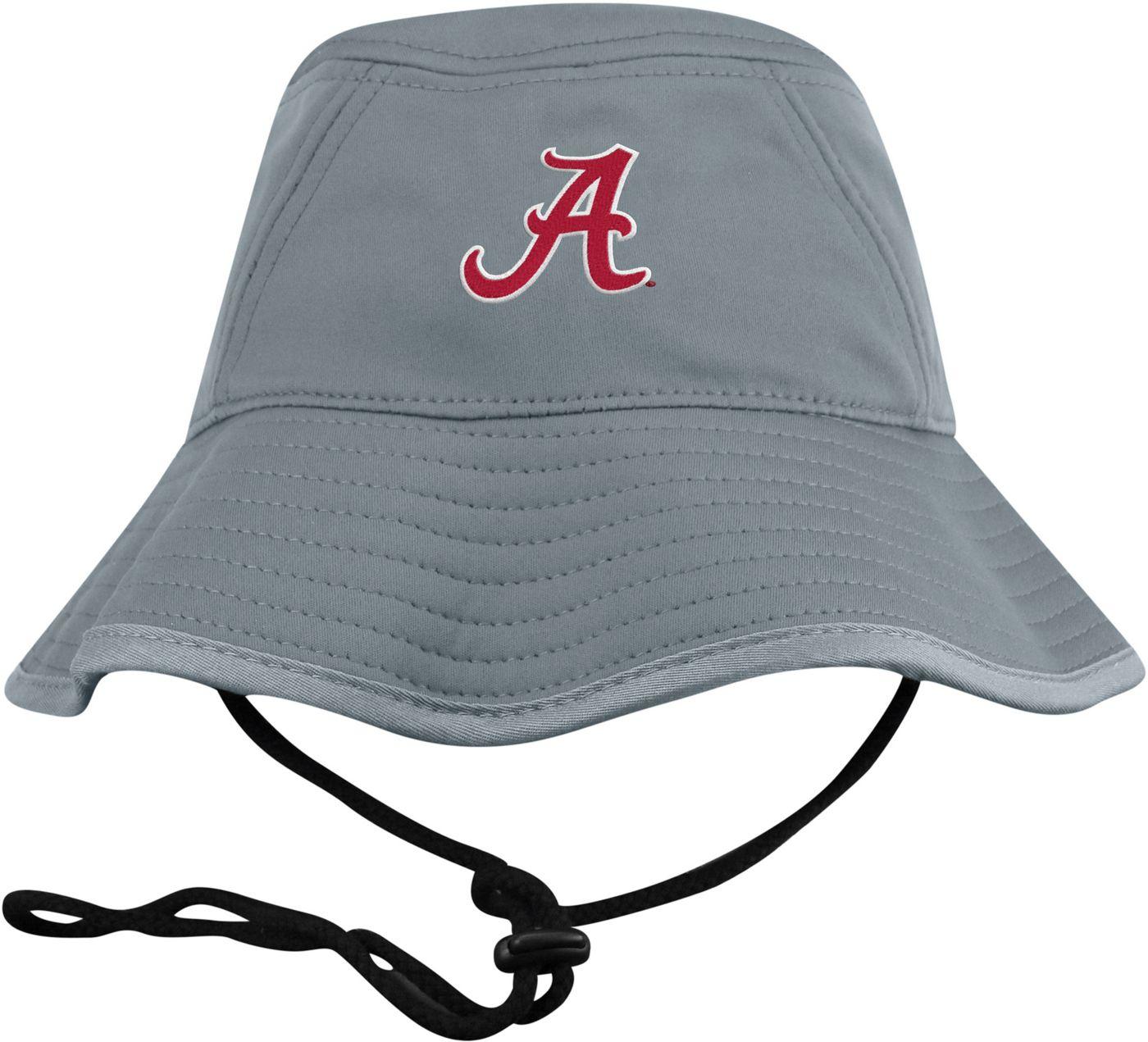 Top of the World Men's Alabama Crimson Tide Grey Bucket Hat