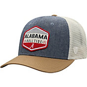 Top of the World Men's Alabama Crimson Tide Grey/Brown/White Wild Adjustable Hat