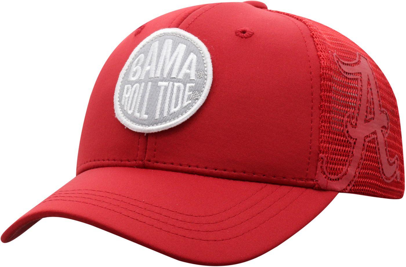 Top of the World Youth Alabama Crimson Tide Crimson Ace Adjustable Hat