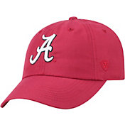 Top of the World Men's Alabama Crimson Tide Crimson Staple Adjustable Hat