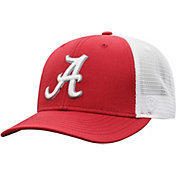 Top of the World Men's Alabama Crimson Tide Crimson/White Trucker Adjustable Hat