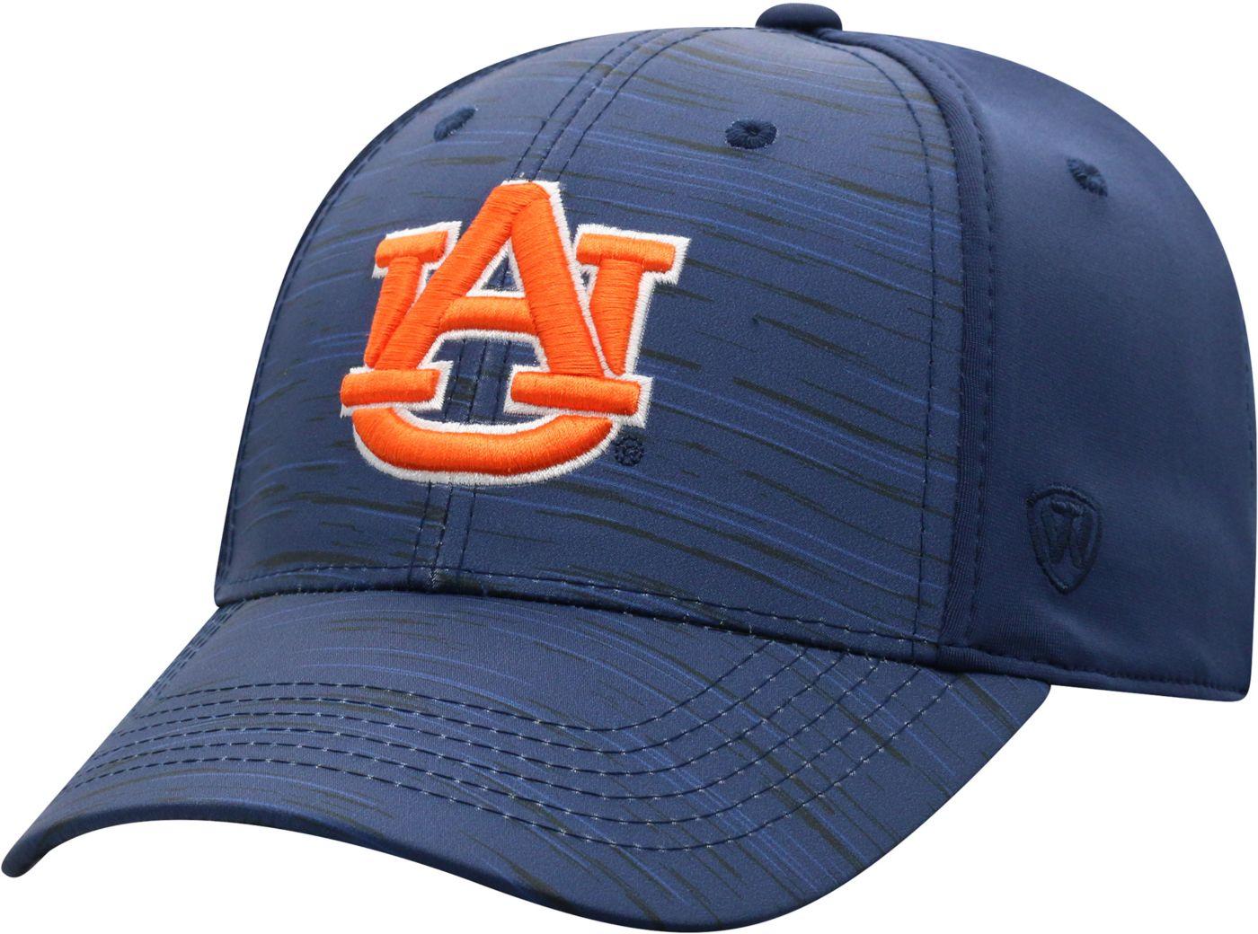 Top of the World Men's Auburn Tigers Blue Intrude 1Fit Flex Hat