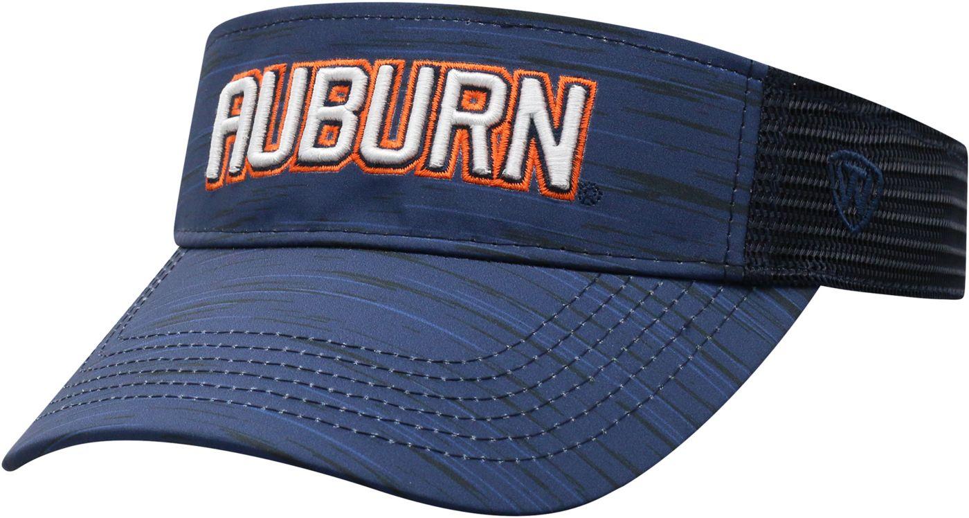 Top of the World Men's Auburn Tigers Blue Intrude Visor