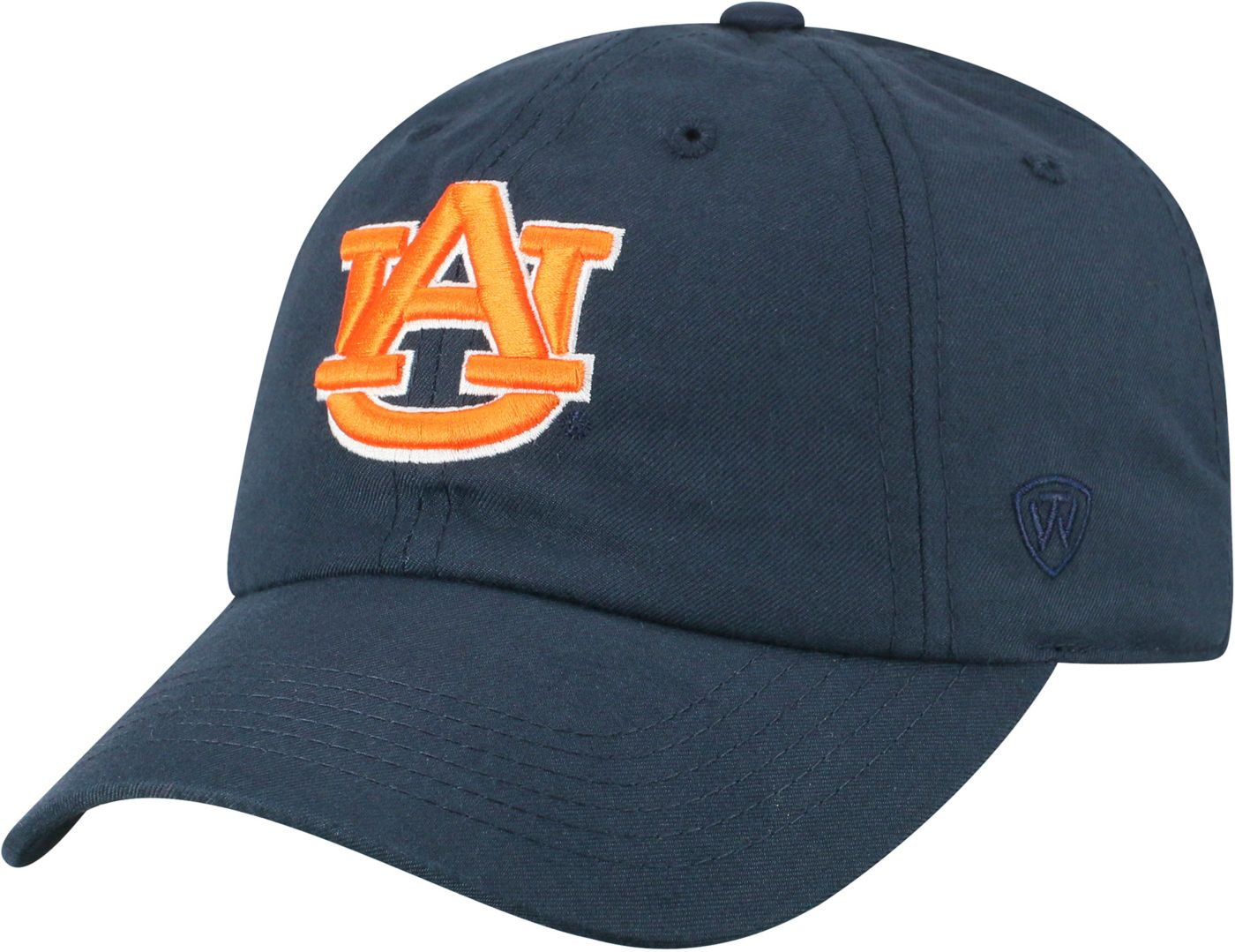 Top of the World Men's Auburn Tigers Blue Staple Adjustable Hat
