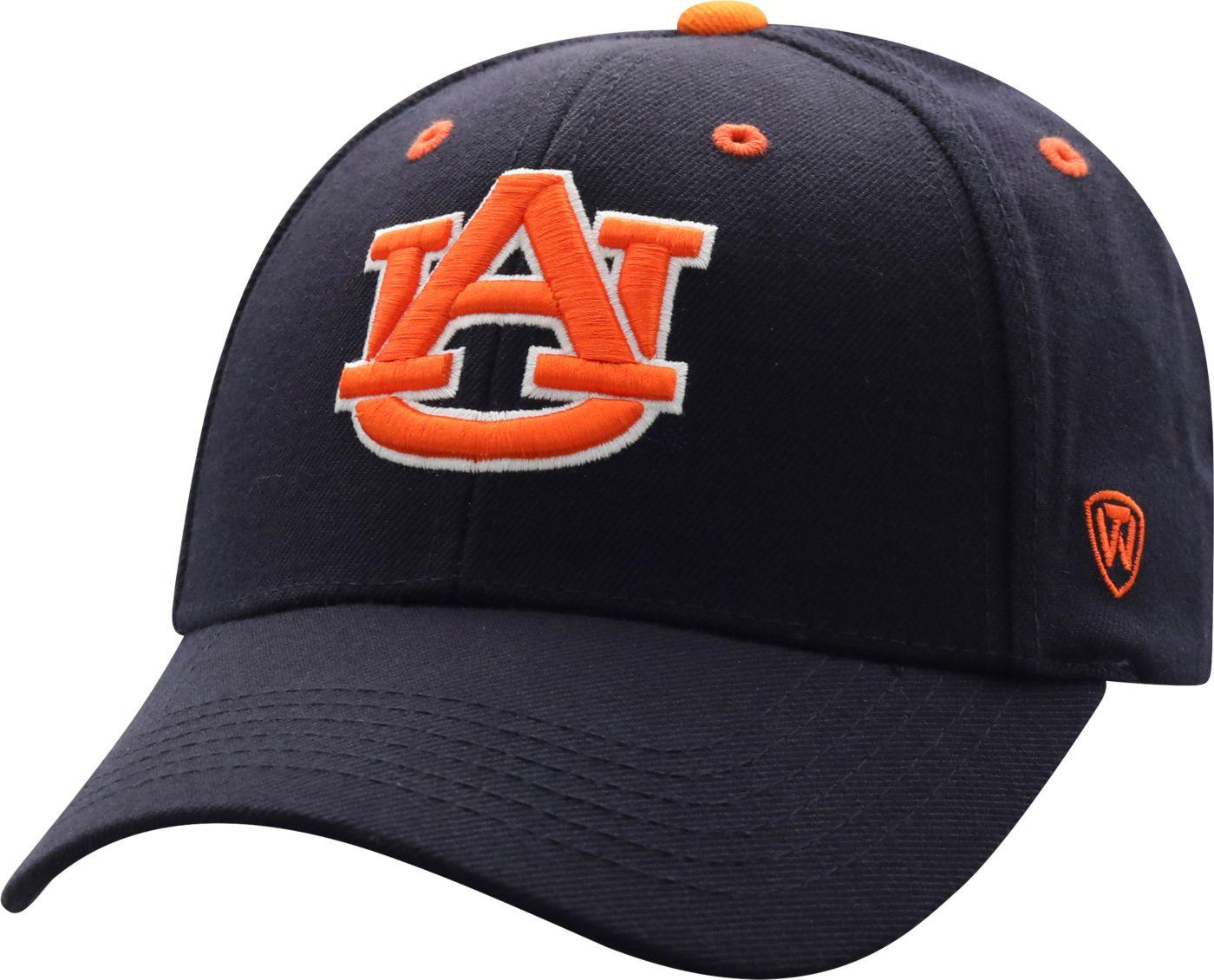 Top of the World Men's Auburn Tigers Blue Triple Threat Adjustable Hat