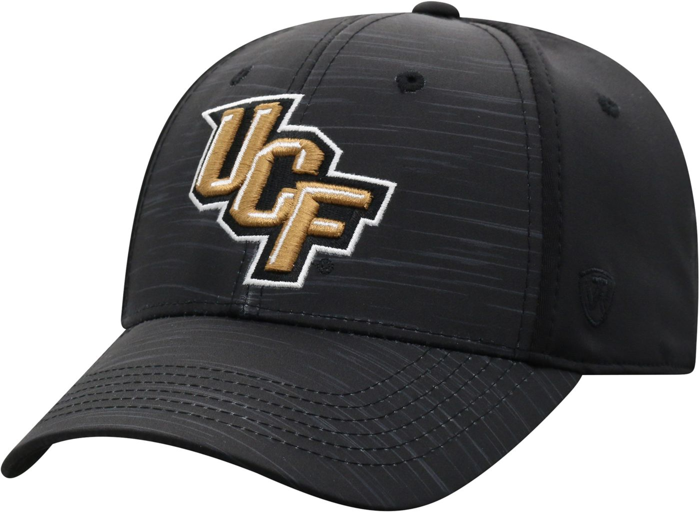 Top of the World Men's UCF Knights Intrude 1Fit Flex Black Hat
