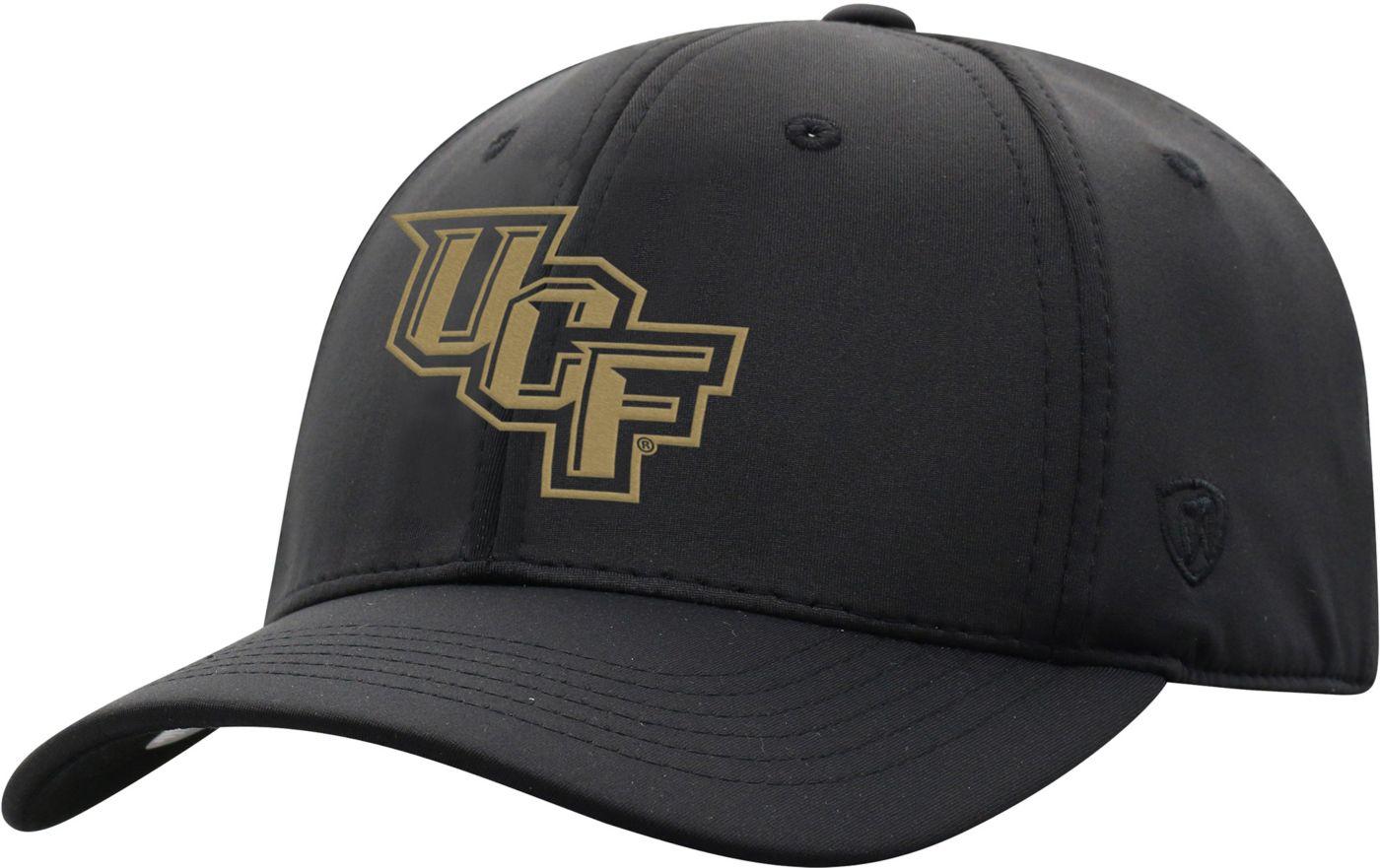 Top of the World Men's UCF Knights Phenom-Bob 1Fit Flex Black Hat