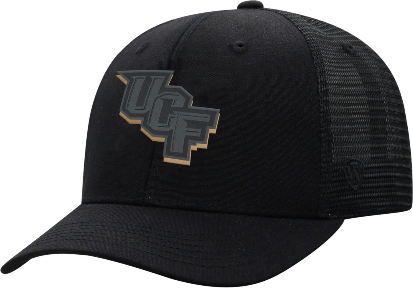 Top of the World Men's UCF Knights ZigZag Trucker Adjustable Black Hat