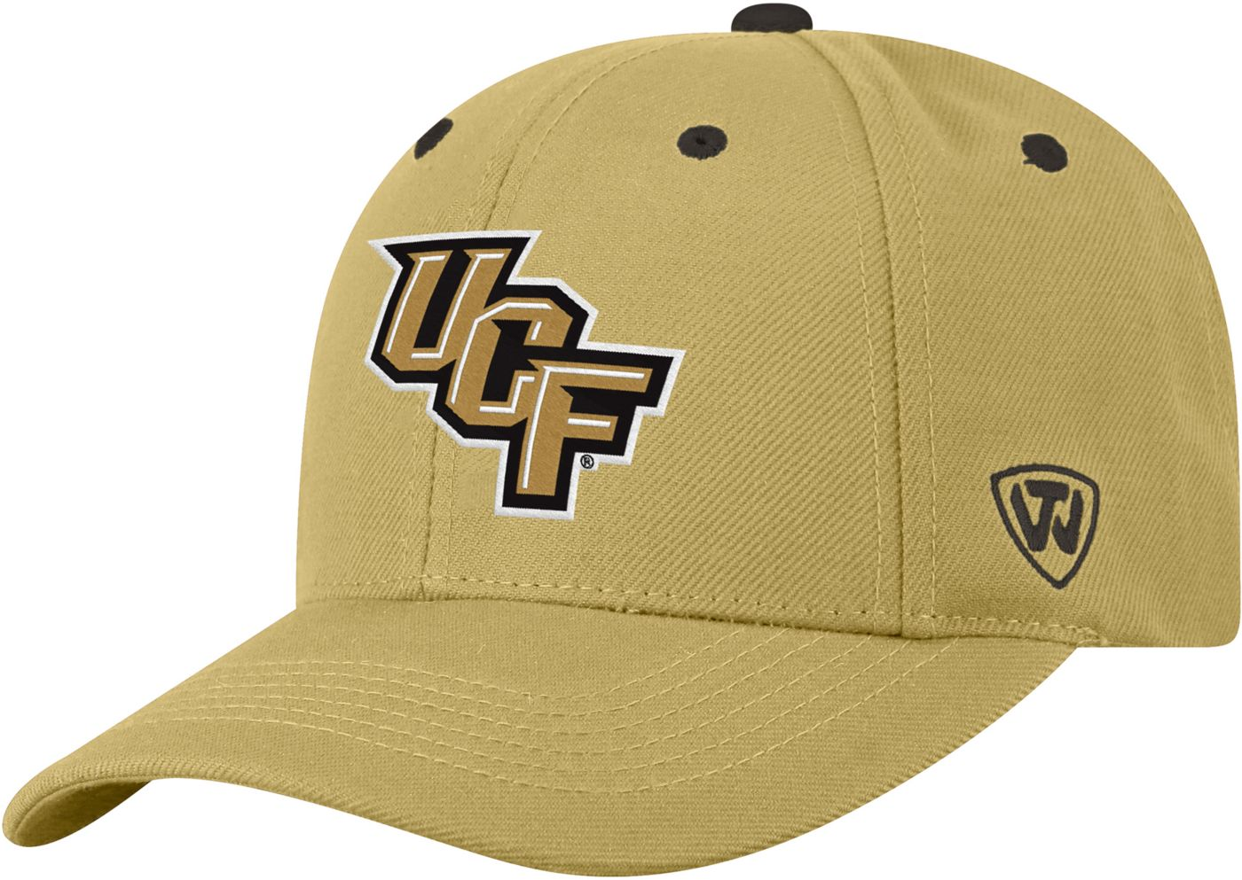 Top of the World Men's UCF Knights Gold Triple Threat Adjustable Hat