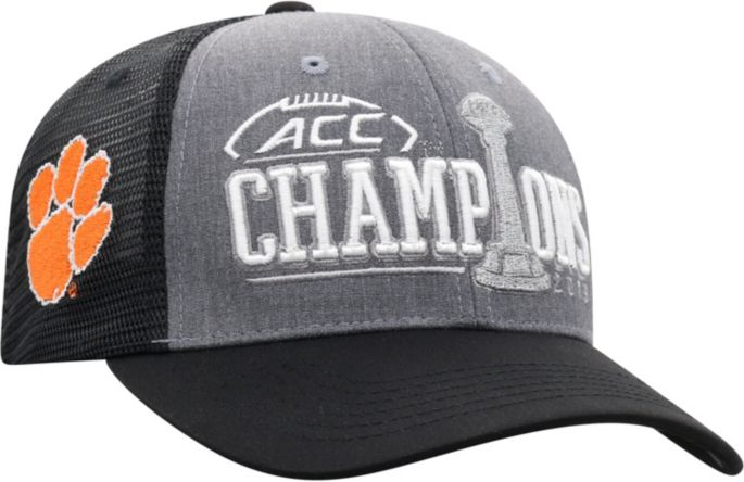 Top Of The World Men S 2019 Acc Football Champions Clemson Tigers Locker Room Hat