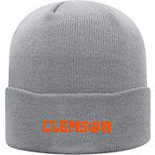 Top of the World Men's Clemson Tigers Grey Cuff Knit Beanie