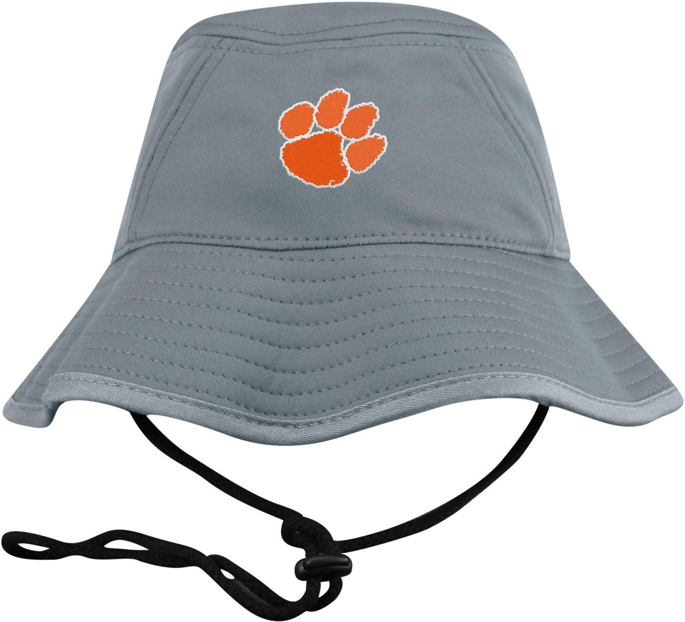Top of the World Men's Clemson Tigers Grey Bucket Hat