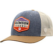 Top of the World Men's Clemson Tigers Grey/Brown/White Wild Adjustable Hat